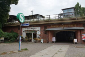S-Bahn Station Rummelsburg, Berlin.