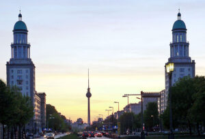 Frankfurter Tor, looking towards the Television Tower