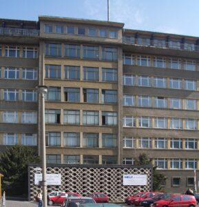 Stasi HQ in 2005. CC-BY-SA Praefcke