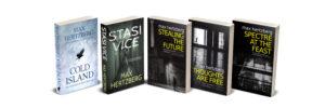 Covers of Max Hertzberg's books
