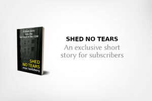 Cover of short story 'Shed No Tears'