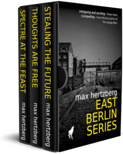 Cover of omnibus edition of East Berlin Series